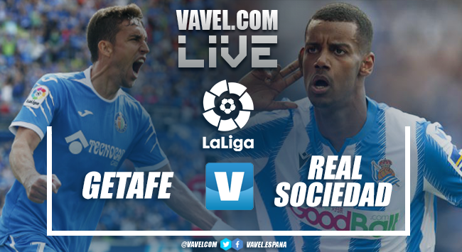 Resumen Getafe vs Real Sociedad en LaLiga Santander (2-1)
