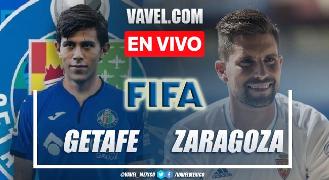 Goles y resumen del Getafe (6)0-0(5) Zaragoza en partido de pretemporada 2021