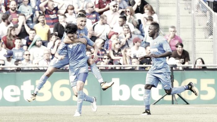 El Getafe CF no gana al FC Barcelona desde 2011