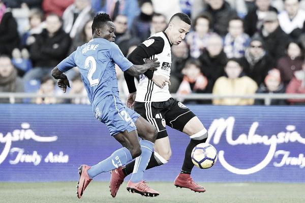 Resumen del Getafe 0-1 Valencia en LaLiga 2018/2019