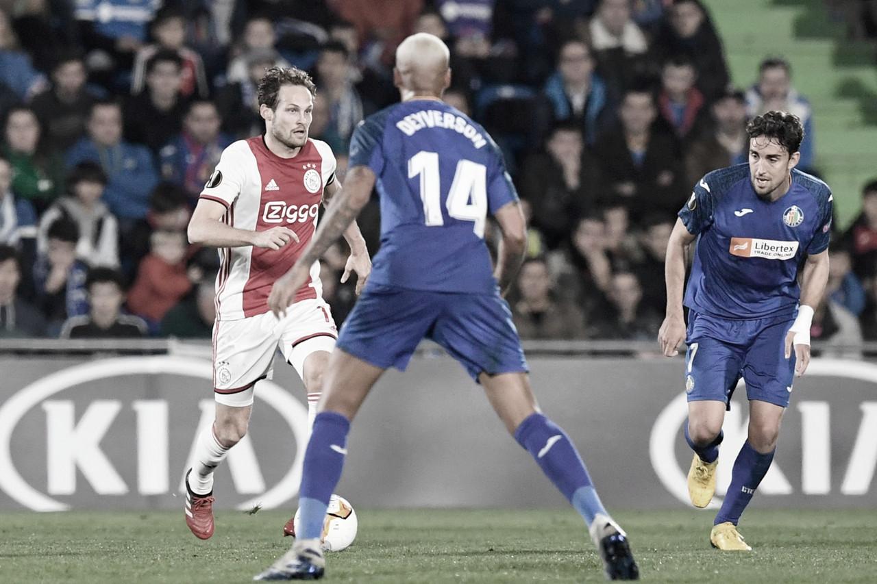 Com gols de Deyverson e Kenedy, Getafe abre vantagem contra Ajax na Europa League