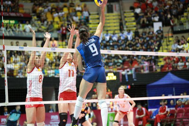 Volley femminile, Gran Prix: la Cina travolge l'Italia