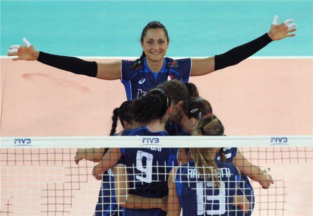 Volley, Mondiali Italia 2014: è un azzurro intenso, Germania al tappeto