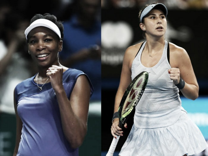 Australian Open: Belinda Bencic beats Venus Williams