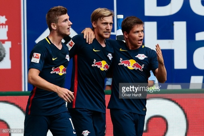 Hamburger SV 0-4 RB Leipzig: Werner comes off the bench to lead visitors to huge win
