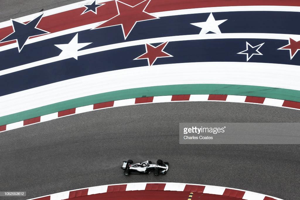 Resumen de la clasificación del GP de Estados Unidos en Fórmula 1 2018