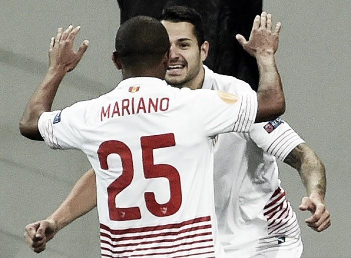Shakhtar Donetsk 2-2 Sevilla FC: Sevilla scores twice to take advantage into second leg