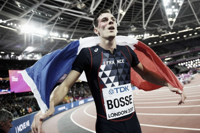 World Athletics Championships: Pierre-Ambroise Bosse storms to 800m title