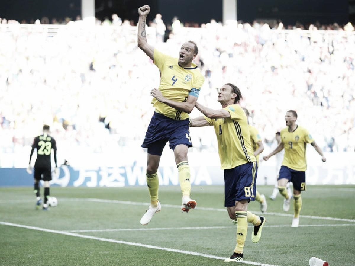 Gran inicio para Suecia