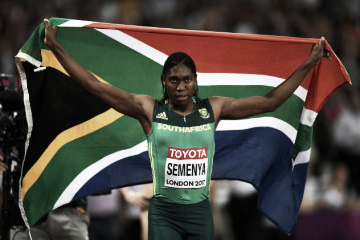 World Athletics Championships: Caster Semenya takes second 800m world title