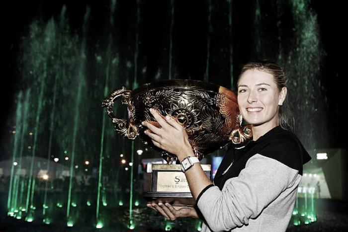 Former China Open champion Maria Sharapova handed main draw wildcard
