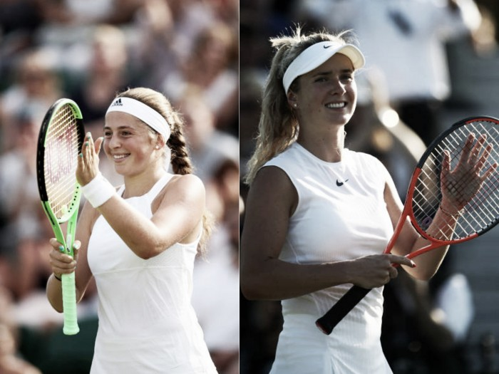 Wimbledon: Serena Williams and Jelena Ostapenko set up clash of generations