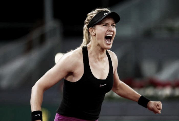 Eugenie Bouchard does not regret criticism of Maria Sharapova