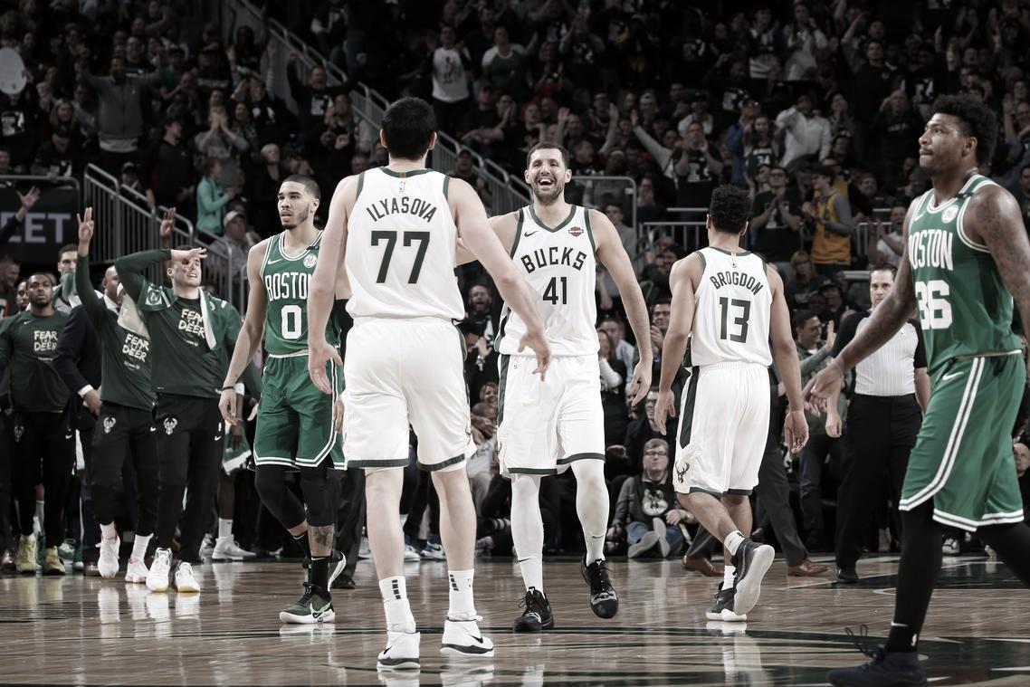 Playoffs NBA: Milwaukee venció a Boston y se mete en finales de la conferencia Este