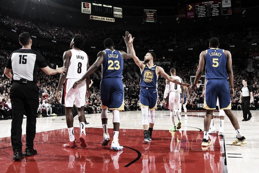 Playoffs NBA: Los Warriors a un paso del pentacampeonato en la conferencia Oeste