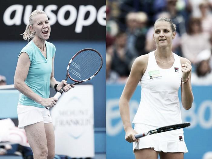 Karolina Pliskova to work with Rennae Stubbs at WTA Finals