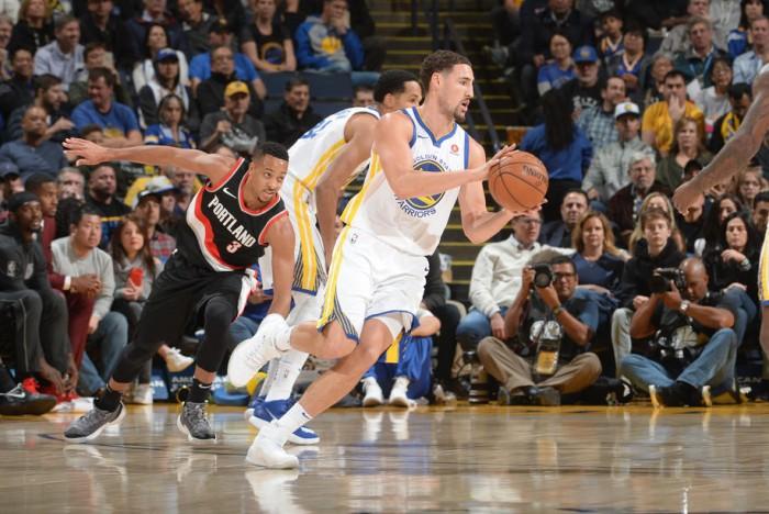 NBA - Ai Blazers non bastano i 39 punti di Lillard, passano i Warriors; vittoria casalinga per i Clippers sui Raptors