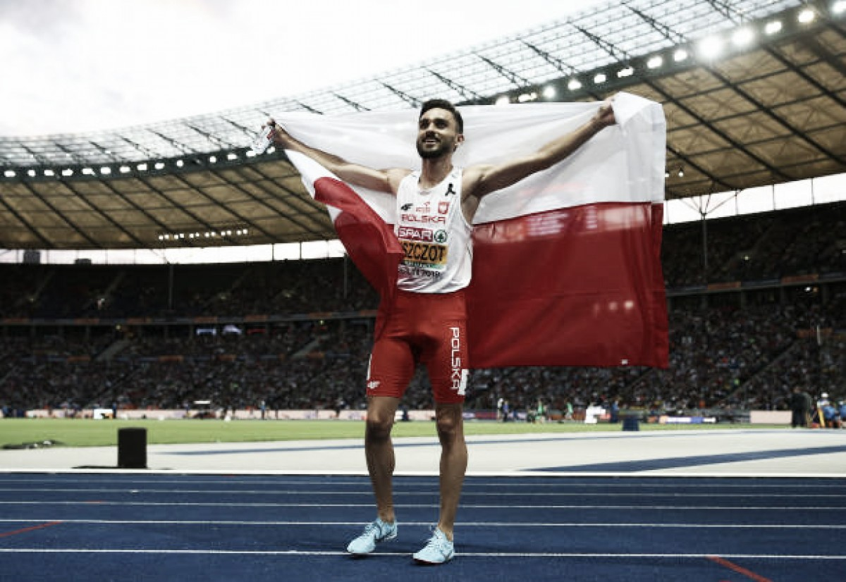 European Athletics Championships: Adam Kszczot defends 800m title