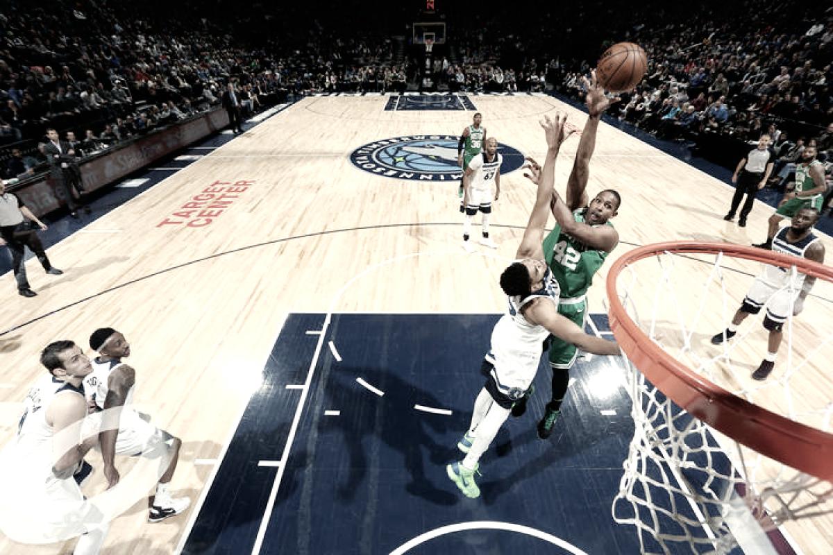 Celtics vencem Timberwolves fora de casa e garantem vaga nos playoffs