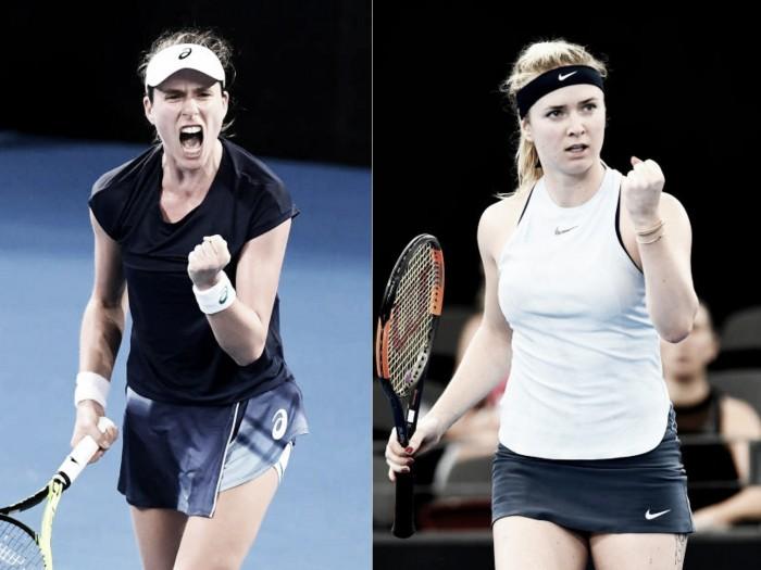 WTA Brisbane quarterfinal preview: Johanna Konta vs Elina Svitolina