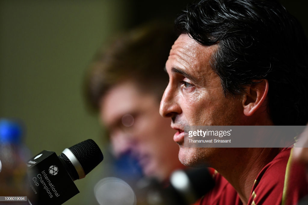 Unai Emery looks ahead to 'big test' against Manchester United on Friday