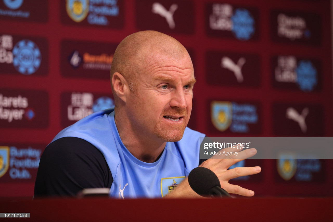 Sean Dyche: Burnley will take the game to Leicester