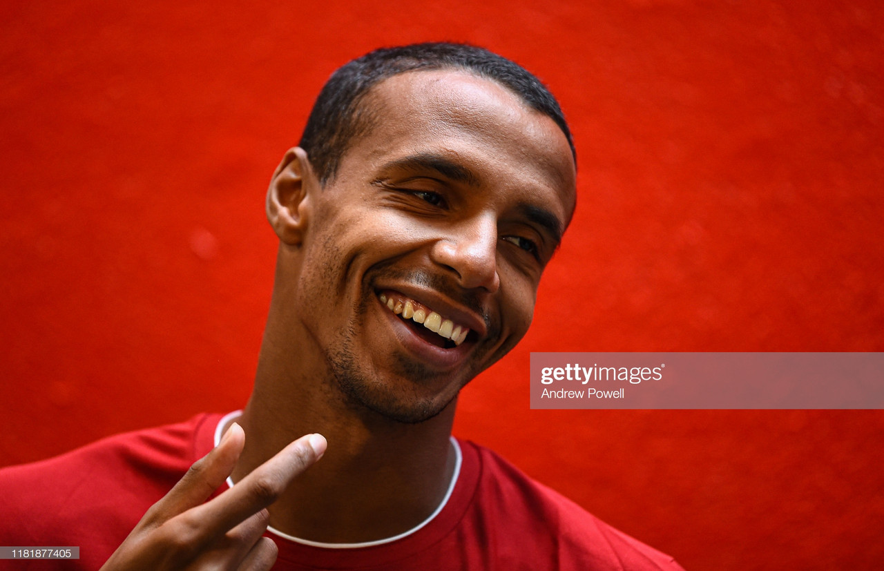 Joel Matip commits to new five-year Liverpool deal