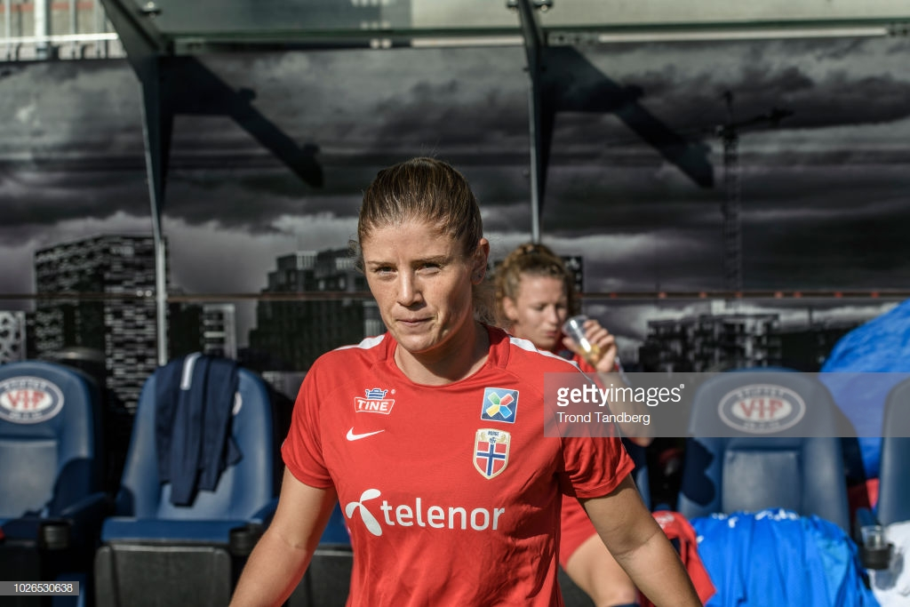 Maren Mjelde on an emotional year with Norway