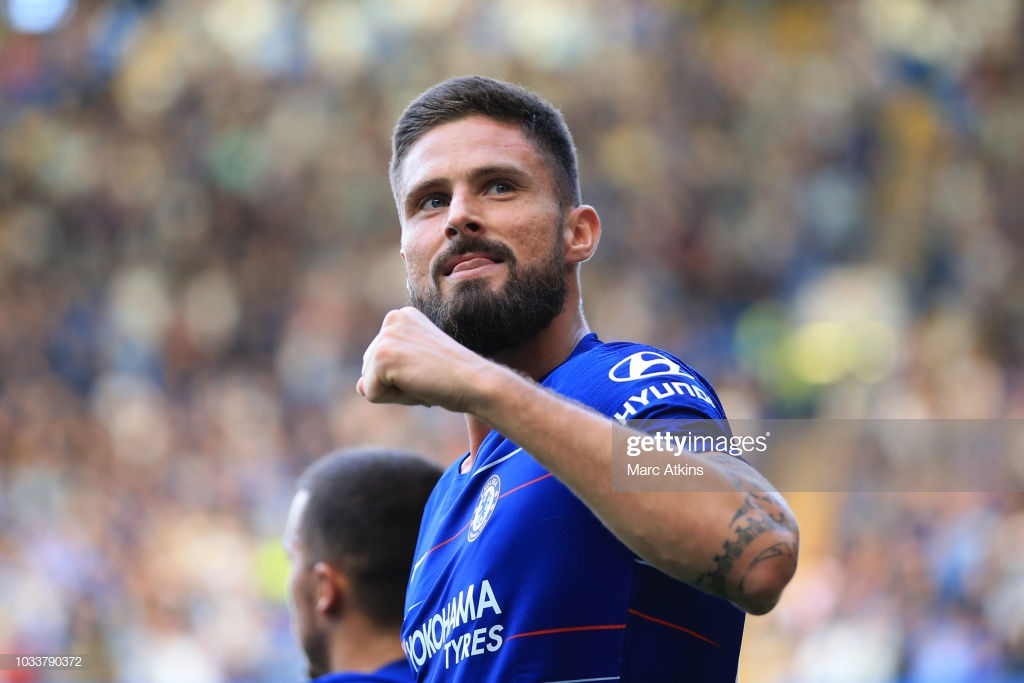 Olivier Giroud hints at Chelsea Exit