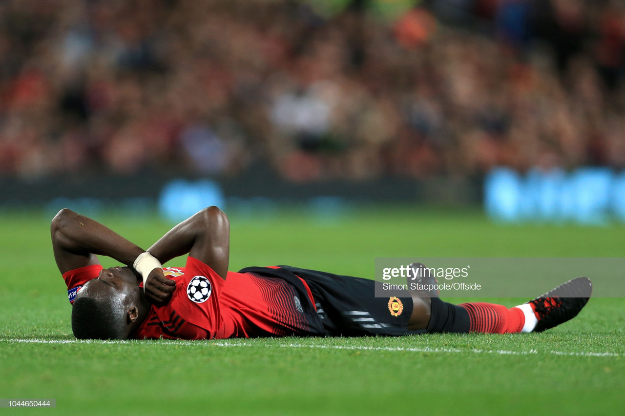 Manchester United's Eric Bailly stretchered off in pre-season friendly against Tottenham