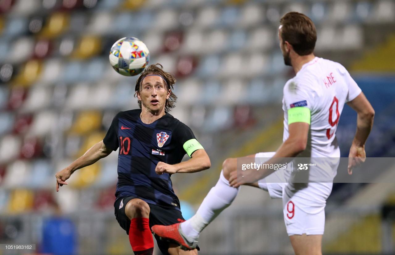 The History of England vs Croatia