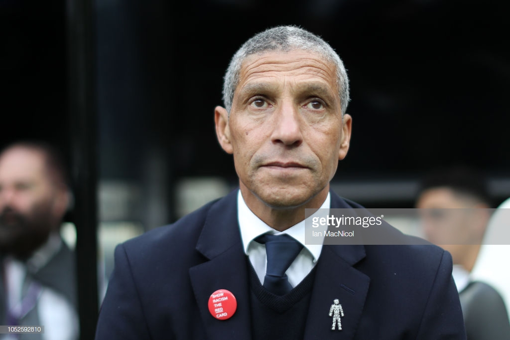 Chris Hughton says Brighton 'are in the right place' ahead of Wolves clash