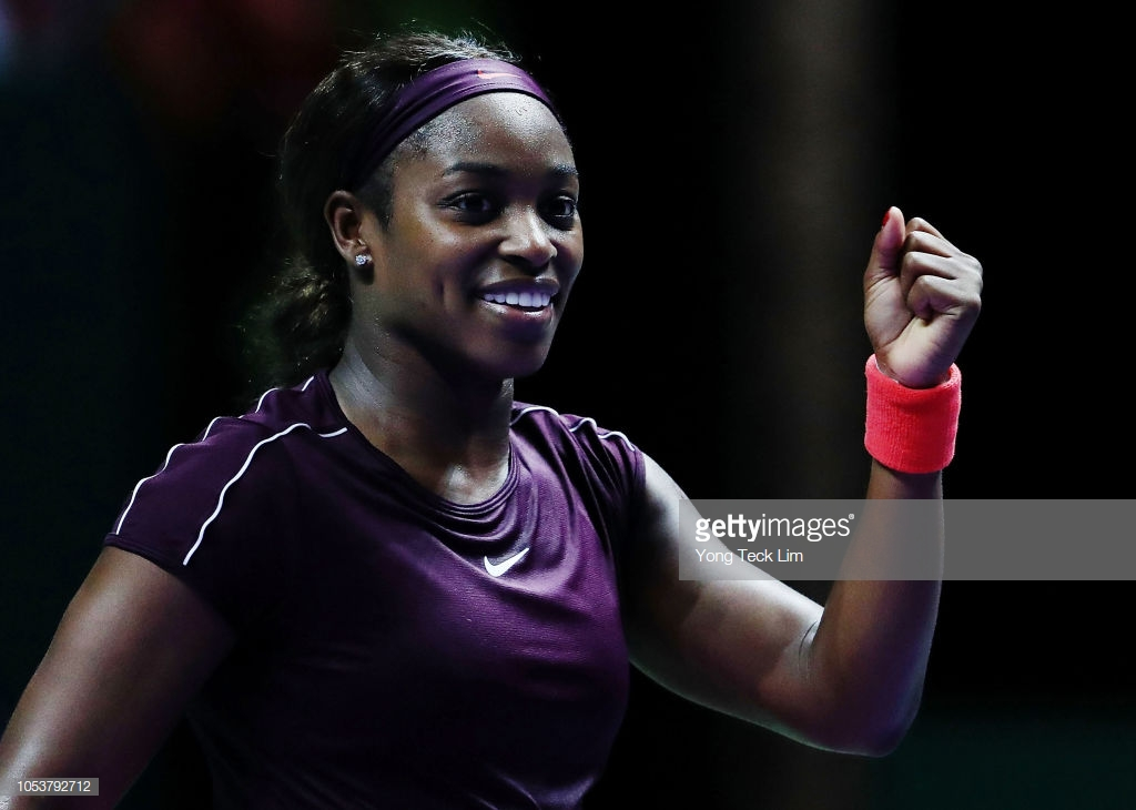 WTA Finals: Sloane Stephens defeats Angelique Kerber to top Red Group