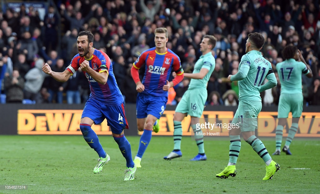 Crystal Palace 2-2 Arsenal: Milivojević puts penalty pain behind him to earn Eagles first home point of the season