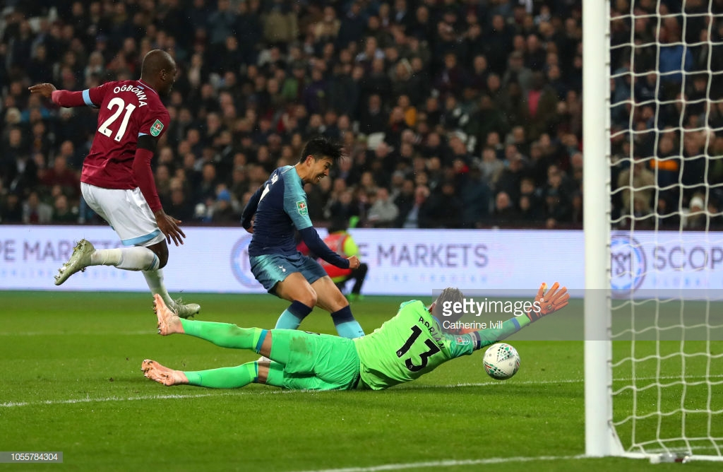 West Ham United 1-3 Tottenham Hotspur: Spurs bounce back from City defeat to progress to the quarter-finals