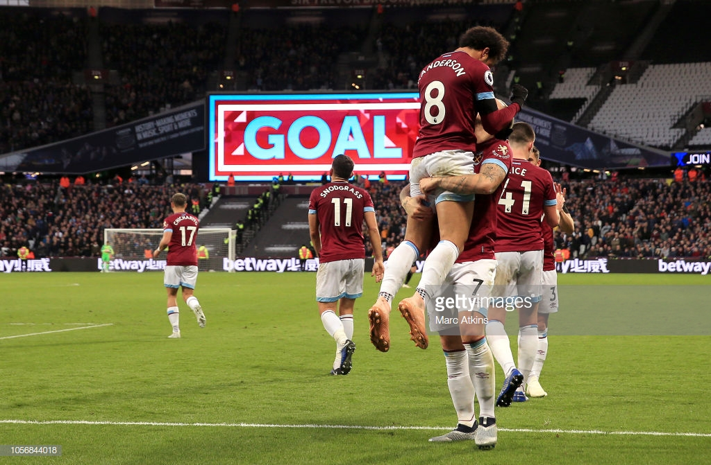West Ham United 4-2 Burnley: Confident Hammers burst through Burnley who drop lower in the league table