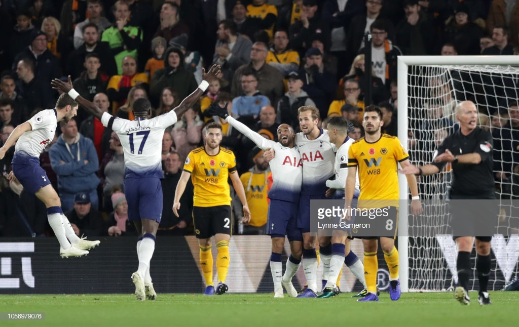 Wolverhampton Wanderers 2-3 Tottenham Hotspur: Lilywhites survive late scare to move into the top four