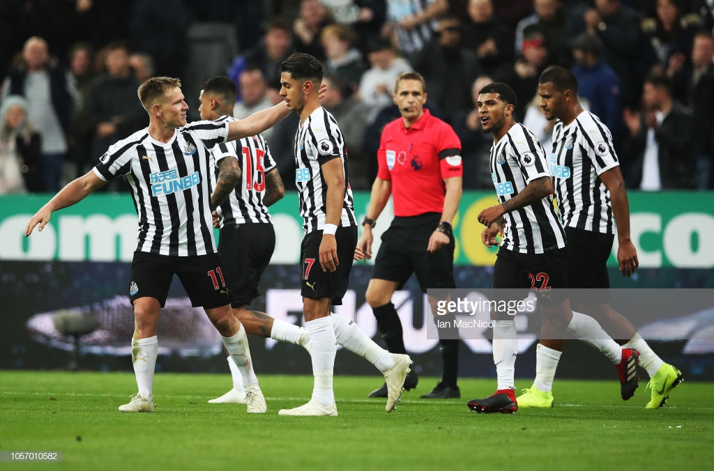 Newcastle's first win of the season eases pressure on Benitez