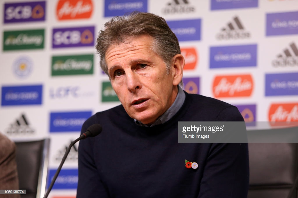 Claude Puel claims no extra motivation needed for Leicester players ahead of Burnley