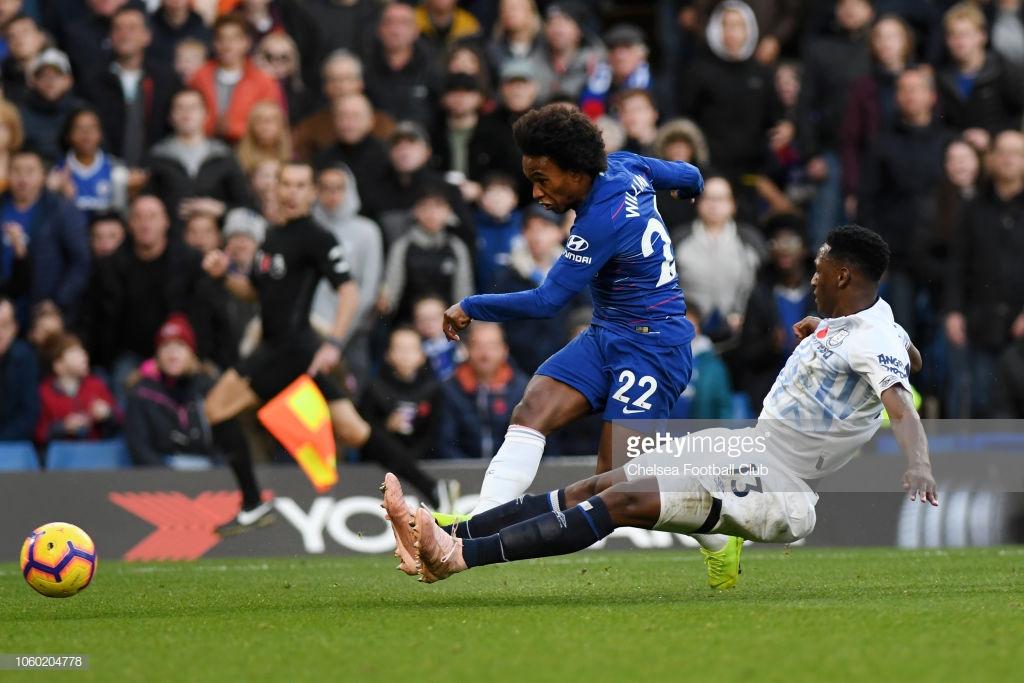 Chelsea 0-0 Everton: Silva's resolute Toffees frustrate Sarri's unbeaten Blues