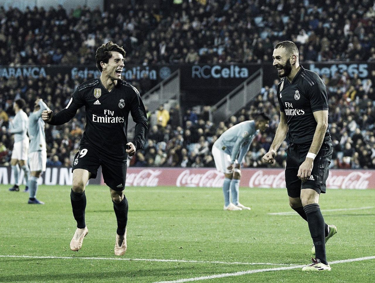 Vaivén de poco fútbol pero mucho Benzema