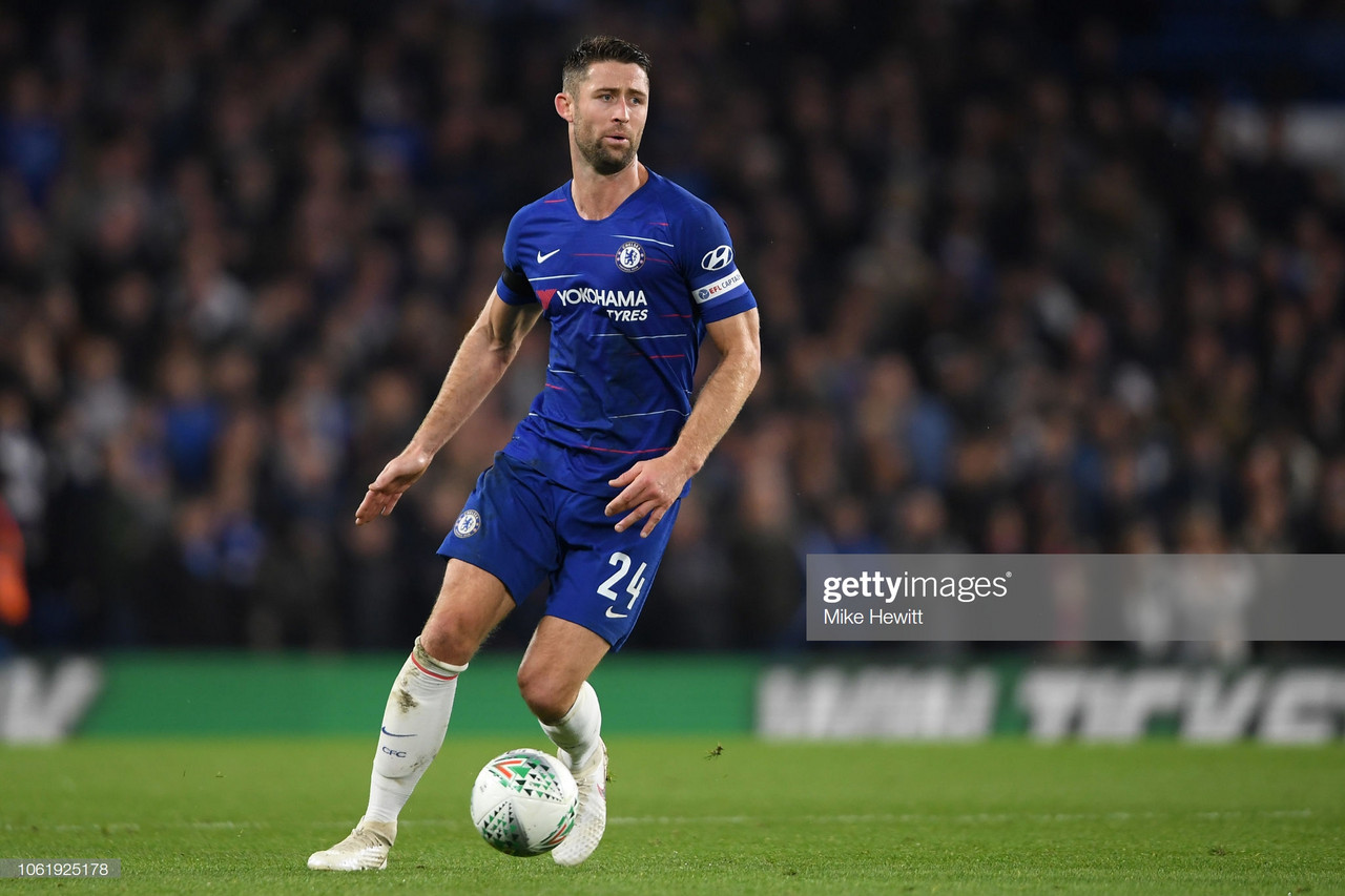 Gary Cahill swaps Chelsea for Crystal Palace
