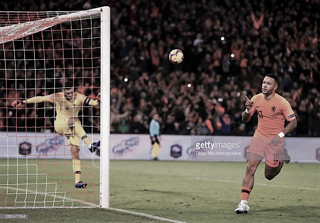 Contundente victoria holandesa sobre Francia