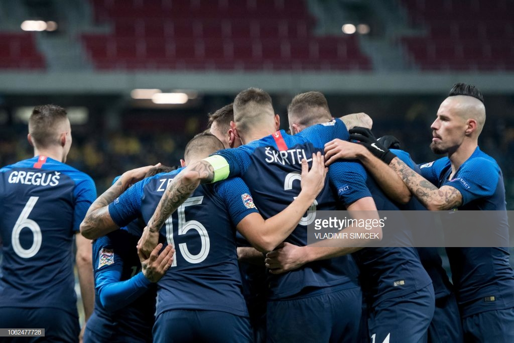 Czech Republic vs Slovakia Live Score Stream and Commentary of UEFA Nations League 2018 (1-0)