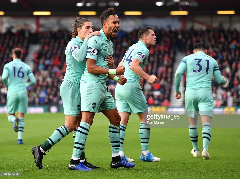 Bournemouth 1-2 Arsenal: Gunners win in nervy fashion at Vitality Stadium