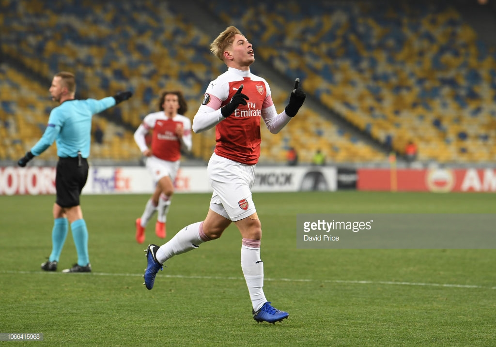 FC Vorskla Poltava 0-3 Arsenal: Smith Rowe shines as the Gunners secure Group E top spot.