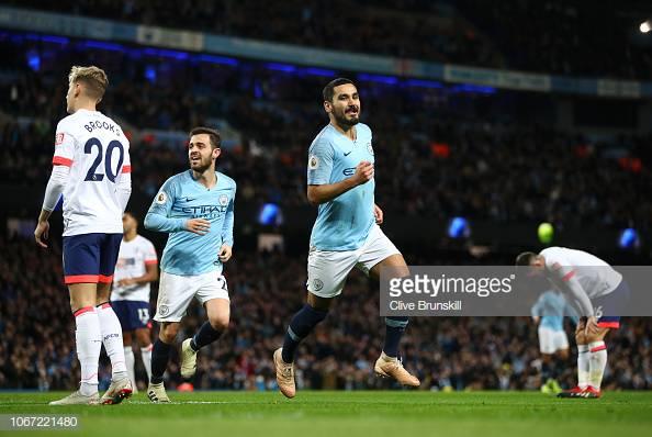 Manchester City 3-1 Bournemouth: Citizens break down defensive Cherries to remain unbeaten