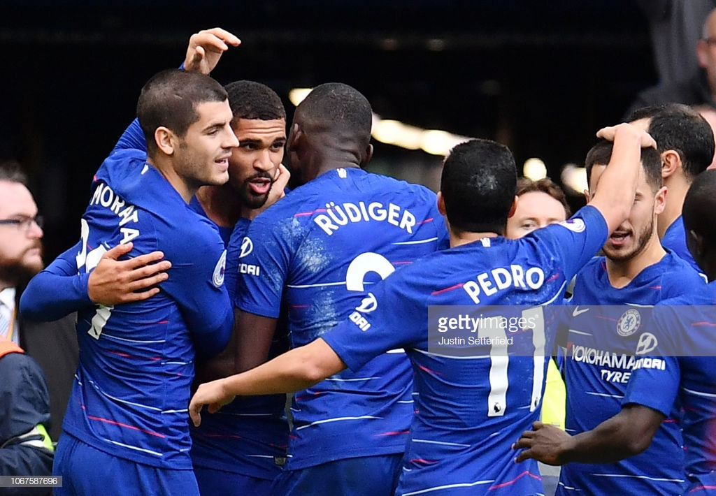 Chelsea 2-0 Fulham: Blues at the double as Loftus-Cheek seals derby spoils