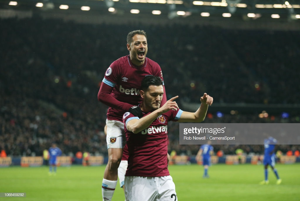 West Ham United 3-1 Cardiff City: Hammers win second in a row to break their unwanted record