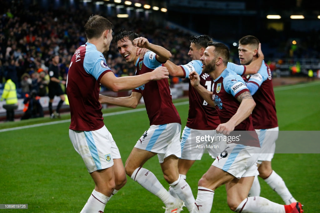 Burnley 1-0 Brighton: Scrappy Tarkowski goal lifts the Clarets out of the relegation zone